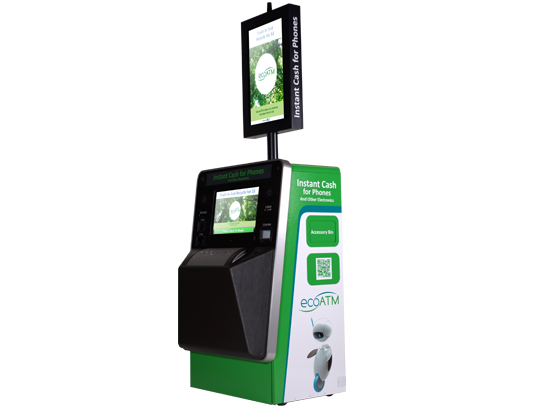 Cell Phone Recycling Kiosk